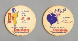 Brasserie Kronenbourg, Bière D´Alsace (Sous-bock Beer Mat Coaster Bierdeckel Bierviltje) - Sous-bocks