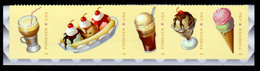 USA, 2016 Scott #5093-5097, Soda Fountain Favorites, Forever,  Bottom Strip Of 5,  MNH, VF