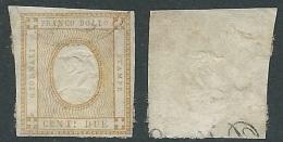 1861 REGNO USATO CIFRA 2 CENT - Y171