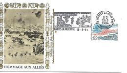 78   MANTES LA JOLIE  50° Anniversaire Des Débarquements Et De La Libération Du Mantois 1944/1994