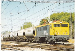 CPM ESPAGNE Mercancias 2000 Tren TEMI Maquina 269.024 - Trenes