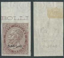 1863-65 REGNO SAGGIO EFFIGIE 30 CENT MNH ** - Y172