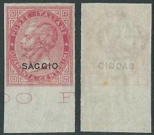 1863-65 REGNO SAGGIO EFFIGIE 40 CENT MNH ** - Y172