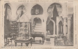 ALGER - Fabrique De Bijouterie Française & Indigène Mme Vve Ratto Magana