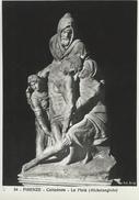 Firenze  - Cattedrale - La Pieta  (Michelangelo)   # 05219 - Sculpturen