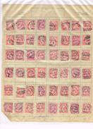 48 X 10 Helvetia -  Timbres/stamps - 1885,1888,1899,.....Suisse-Schweiz