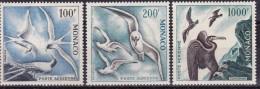 MONACO - YVERT Nº  A66/68 (oiseaux De Mer) * MLH