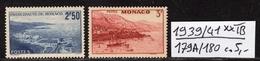 Monaco  N° 179A/180  Neuf ** Gomme D´Origine  TB