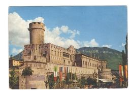 TRENTO. Castello Del Buon Consiglio. Publicité Globiron Au Dos. Affranchie Poste Vatican.Timbre Pape Pie XII - Trento