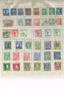 39 Timbres/stamps-USA, Hongrie,Canada,Chile,Bosnie-Herzégovine,Osterreich,Österreich-Ungarn,Nastanak Kraljevine,SHS - Collections (en Albums)
