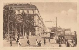 ALGER - Boulevard De La République Et Square Bresson