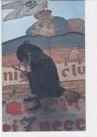 CARD CARTONCINO HALLOWEN STREGA SU SCOPA PIRATA DAN IL TERRIBILE  -2-0882-26182 - Halloween