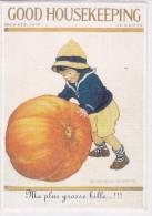 CARD RIPRODUZIONE  GOOD HOUSEKEEPING GROSSA ZUCCA -FG-N    -2-0882-26187 - Halloween