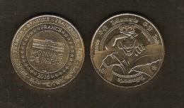 Médaille / Monnaie De Paris - Belgique - Bellewaerde Park N° 4 Mascotte Et Plante 2016 - Tourist