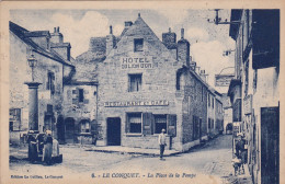 Le Conquet Place De La Pompe - Le Conquet