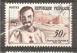 FRANCE / 1959 / Y&T N° 1191 : Charles De Foucauld - Cachet Rond - France