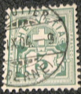 Switzerland 1882 Cross & Shield 5c - Used