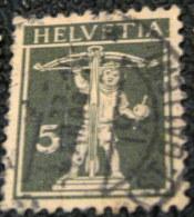 Switzerland 1924 William Tells Son 5c - Used