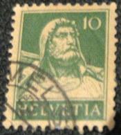 Switzerland 1921 William Tell 10c - Used