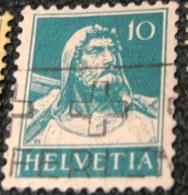 Switzerland 1924 William Tell 10c - Used