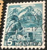 Switzerland 1936 Landscapes 5c - Used