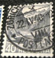 Switzerland 1936 Landscapes 40c - Used