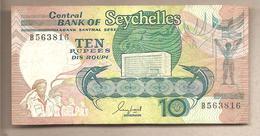 Seychelles - Banconota Circolata Da 10 Rupie P-32 - 1989 - Seychelles