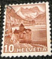 Switzerland 1939 Landscapes 10c - Used