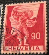 Switzerland 1941 Symbols 90c - Used