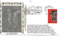 69  SAINT GENIS LAVAL  1994 50° Anniversaire Du Massacre De ¨Côte De Lorette  20/08/94