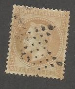 FRANCE - N°YT 28B OBLITERE ETOILE DE PARIS - COTE YT : 6€ - 1868