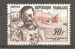 FRANCE / 1959 / Y&T N° 1191 : Charles De Foucauld -  Cachet Rond - Usati