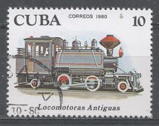 Cuba 1980. Scott #2360 (U) Early Locomotives: 2-4-2 Locomotive * - Cuba