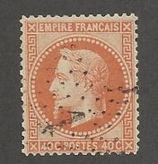 FRANCE - N°YT 31 OBLITERE ETOILE DE PARIS 1 - COTE YT : 25€ - 1868