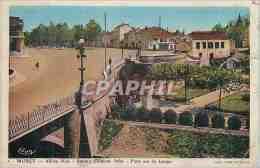CPA Muret Allees Niel Square Clement Ader Pont Sur La Louge - Muret