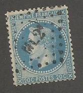 FRANCE - N°YT 29A OBLITERE AMBULANT ML2° - COTE YT : 10€ - 1867