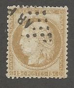 FRANCE - N°YT 55 OBLITERE AMBULANT AR P - COTE YT : 5€ - 1873