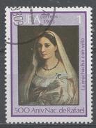 Cuba 1983. Scott #2607 (U) Girl With Veil, By Raphael, 500th Birth Anniv. * - Cuba