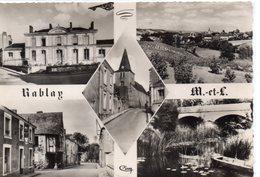 Rablay-sur-Layon.. Belle Multi-vues La Mairie Le Bourg Le Pont Sur Le Layon - Other Municipalities