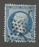 FRANCE - N°YT 22 OBLITERE ETOILE DE PARIS 15 - COTE YT : 1€ - 1862