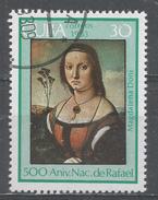 Cuba 1983. Scott #2611 (U) Magdalenna Doni, By Raphael, 500th Birth Anniv. * - Cuba
