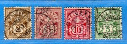 SUISSE°-1894 - ZUM.58B-60B-61B-65B  / MI.50Y-52Y-54Y-53Y. .  2 Scan. Cat. Zum. 2016  CHF.4,50.    Vedi Descrizione