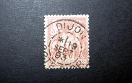 FRANCE 1881 N°94 OBL. (SAGE N/U. 40C VERMILLON SUR JAUNE PÂLE. TYPE II)