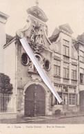 YPRES - Vieille Maison - Rue De Dixmude - Superbe Carte - Ieper