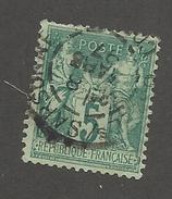FRANCE - N°YT 75 OBLITERE AVEC CAD DU 08/03/1897 - COTE YT : 1€ -