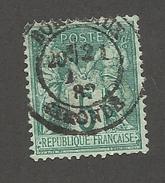 FRANCE - N°YT 75 OBLITERE AVEC CAD BORDEAUX 1882 - COTE YT : 1€ -