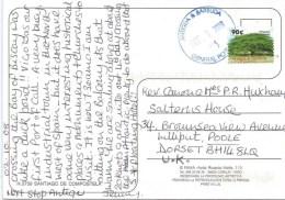 Antigua 2008 St John´s Prosopis Chilensis Tree Viewcard - Antigua En Barbuda (1981-...)