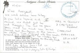 Antigua 2012 St John´s Postage Paid Unfranked Viewcard - Antigua En Barbuda (1981-...)