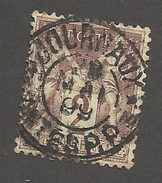 FRANCE - N°YT 85 OBLITERE AVEC CAD JOURNAUX PP DU 08/05/1899 - COTE YT : 1€ -