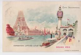 LEFEVRE UTILE GRAND PRIX PARIS 1900 - Publicité